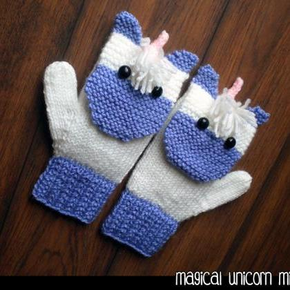 Magical Unicorn Mittens for the Fam..