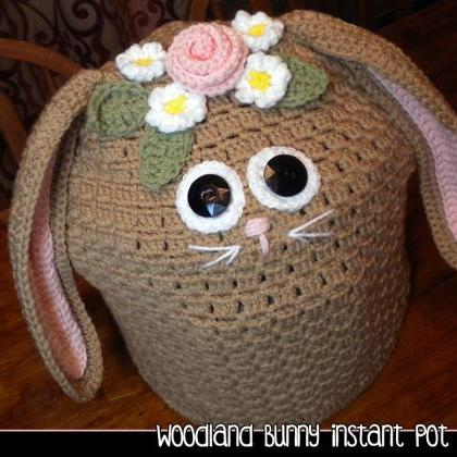 Woodland Bunny Instant Pot Cover - ..