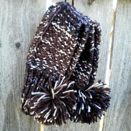 Handmade Knit Slippers - Women's Si..