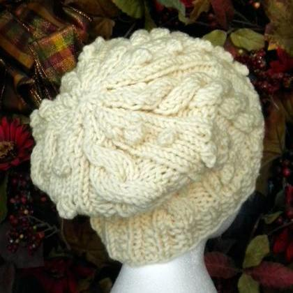 Bit of Irish Slouchy Hat Knitting P..