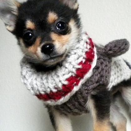 Sock Monkey Dog Sweater Knitting Pattern On Luulla New Dog Hat Knitting Pattern