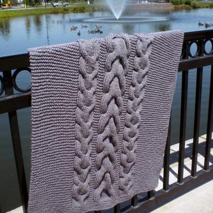 Best Wishes Baby Blanket Knitting P..
