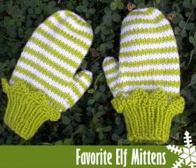 Favorite Elf Mittens..