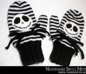 Nightmare Skull Mitt..