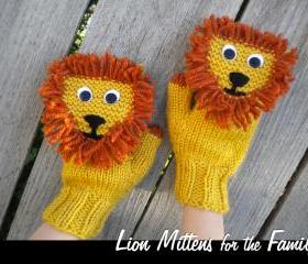 Lion Mittens for the..