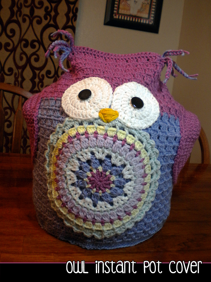 owl instant pot cover crochet pattern on luulla