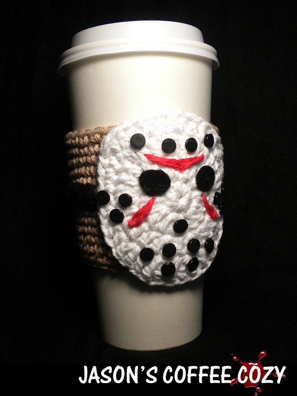Jason's Coffee Cozy Crochet Pattern