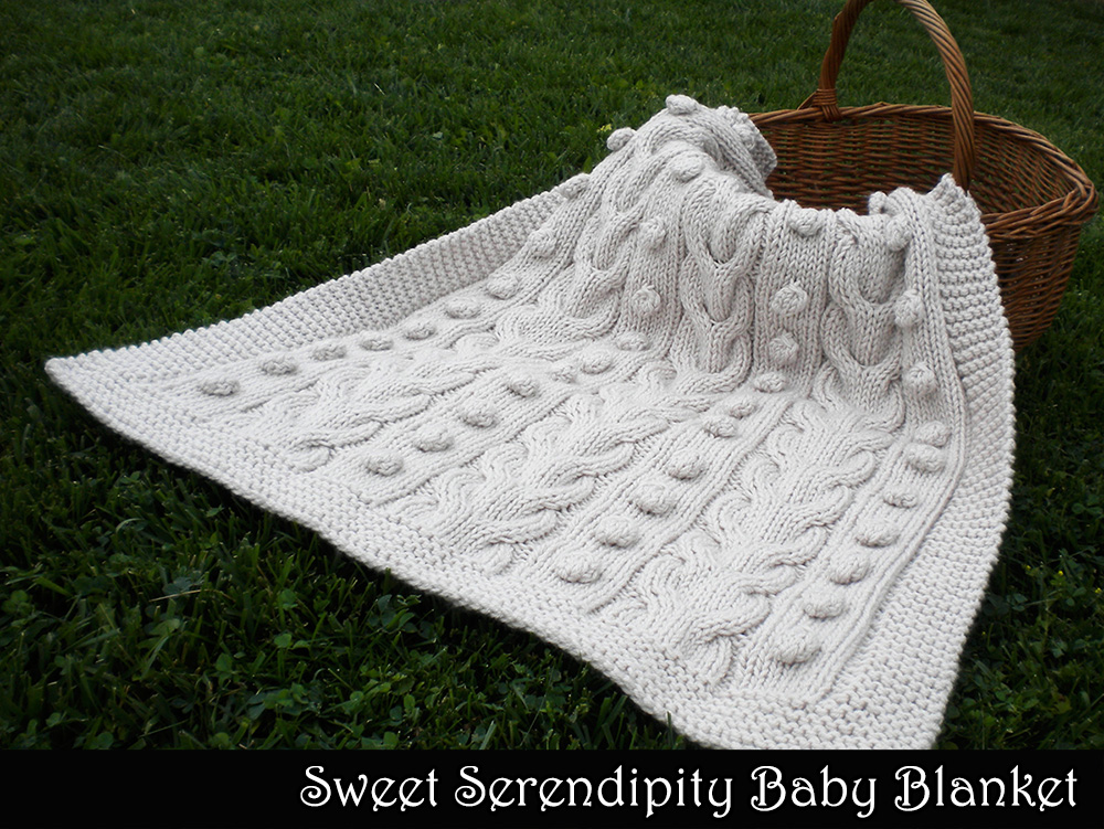 Sweet Serendipity Baby Blanket Knitting Pattern On Luulla