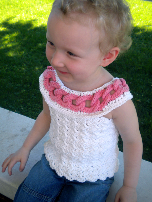 Summer Rings Top for Little Girls Pattern
