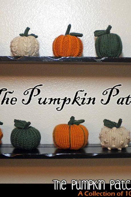 The Pumpkin Patch Ornaments Pattern