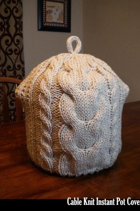 Cable Knit Instant Pot Cover