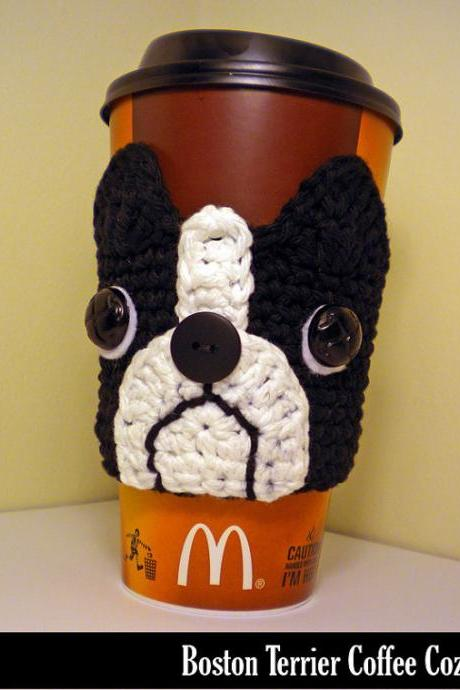 Boston Terrier Cozy - FINISHED HANDMADE PRODUCT