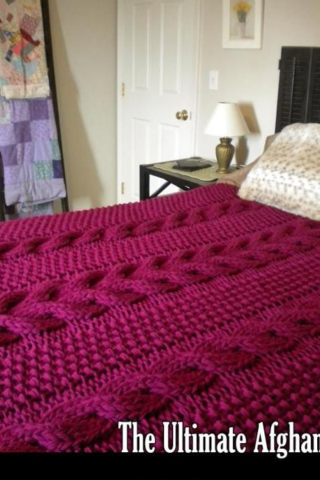 The Ultimate Afghan Knitting Pattern