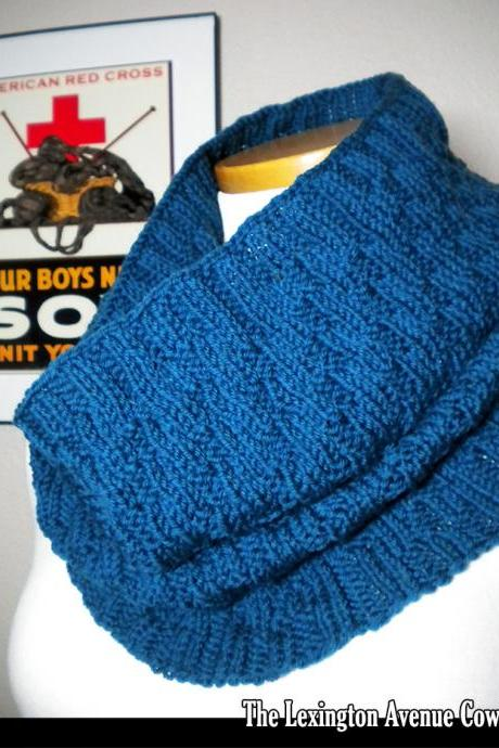 The Lexington Cowl Knitting Pattern