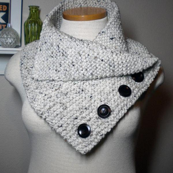 The New England Cowl Knitting Pattern