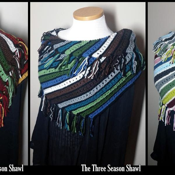 The Three Season Shawl Knitting Pattern