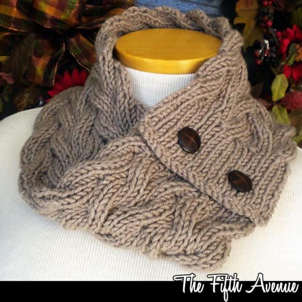 045a9ae45c6 The Galway Baby Blanket Knitting Pattern The Fifth Avenue Cowl Knitting  Pattern ...