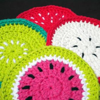 Fruit Medley Coasters Pattern